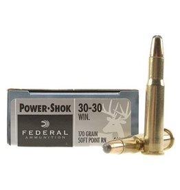 FEDERAL FEDERAL 30-30 WIN 170GR HI-SHOK SP FN 20 RDS