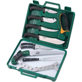 OUTDOOR EDGE OUTDOOR EDGE GAME PROCESSOR 12 PIECE PORTABLE BUTCHER SET