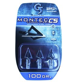 G5 OUTDOORS G5 MONTEC BROADHEAD CS 100GR 3PK
