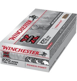 WINCHESTER WINCHESTER 270 WSM 150GR POWER POINT