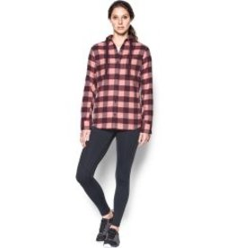 UNDER ARMOUR UNDER ARMOUR WOMEN'S BORDERLAND FLANNEL SWACKET