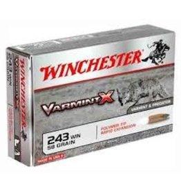 WINCHESTER WINCHESTER 243 WIN VARMIT X 58GR POLYMER TIP