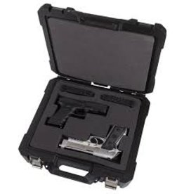 FLAMBEAU OUTDOORS FLAMBEAU DOUBLE PISTOL CASE 13.5""