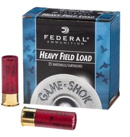 "FEDERAL FEDERAL HEAVY FIELD LOAD 12GA 2-3/4"" 1 1/8OZ SHOTSHELL 4#"