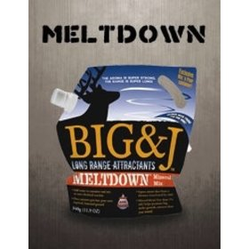 BIG & J BIG & J LONG RANGE ATTRACTANT MELTDOWN MINERAL MIX 1LB