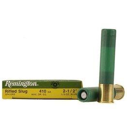 "REMINGTON REMINGTON 410 GA 2-1/2"" RIFLED SLUG 5 SHELLS"