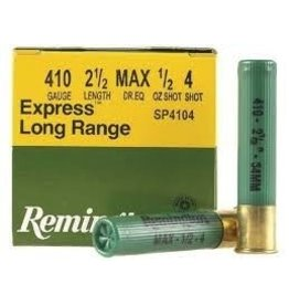 REMINGTON REMINGTON EXPRESS LONG RANGE 410 BORE 2 1/2 LENGTH 1/2 OZ SHOT SP4104