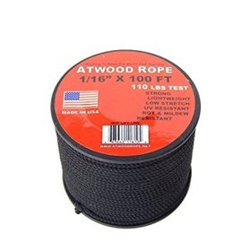 "ATWOOD ATWOOD ROPE MFG. 1/16"" X 100FT"