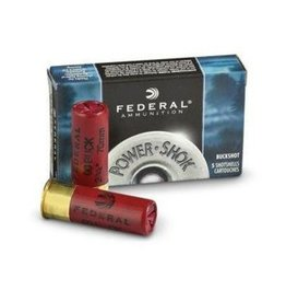 FEDERAL FEDERAL PREMIUM POWER SHOK 12 GA BUCKSHOT 00 BUCK