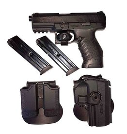 USED WALTHER PPX 9MM RANGE KIT