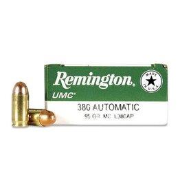 REMINGTON REMINGTON UMC 380 AUTOMATIC 95 GR FMJ 50 RDS