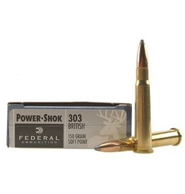 FEDERAL FEDERAL 303 BRITISH 180GR SOFT POINT POWER-SHOK