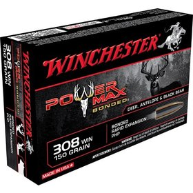 WINCHESTER WINCHESTER 308 WIN 150GR POWER MAX BONDED