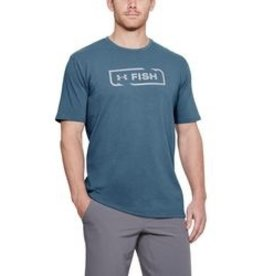 UNDER ARMOUR UNDER ARMOUR MEN'S FISH ICON SS T SHIRT