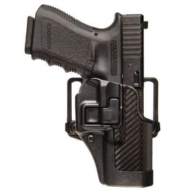 BLACKHAWK SEPRA CGC CONCEALMENT HOLSTER RH CARBON FIBRE FINISH