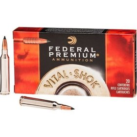 FEDERAL FEDERAL PREMIUM C.308 WIN. 180GR NOSLER PARTITION 20 RDS
