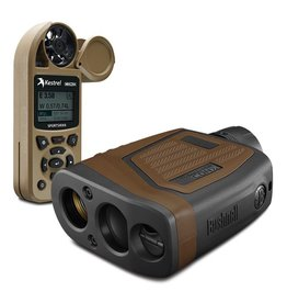 BUSHNELL BUSHNELL ELITE TACTICAL 7X 26MM 1 MILE CON-X LASER RANGEFINDER + WEATHER METER