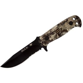 BUCK BUCK KNIFE SENTRY KRYPTEK W/ BLACK SHEATH