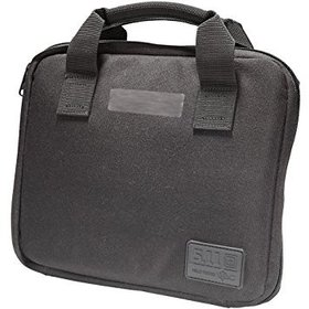 5.11 TACTICAL SERIES SINGLE PISTOL CASE BLACK