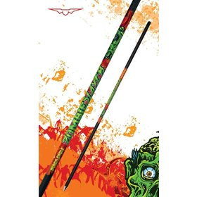 "BLACK EAGLE BLACK EAGLE ZOMBIE SLAYER CROSSBOW FLETCHED ARROW-.001"" 6PK 22"""