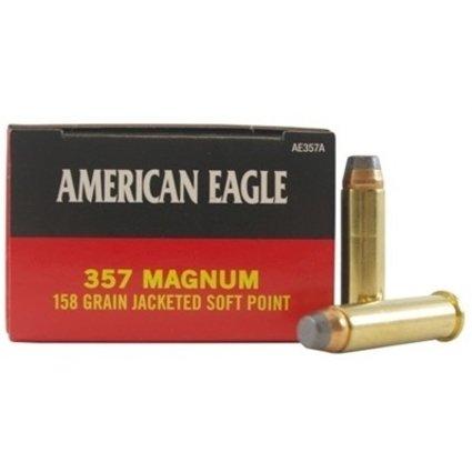 AMERICAN EAGLE AMERICAN EAGLE c.357 MAGNUM 158 GR JSP 50 RDS