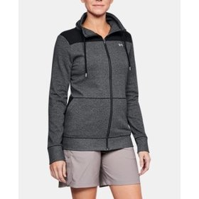 UNDER ARMOUR UNDER ARMOUR WOMEN'S TB SHORELINE FULL ZIP BLACK