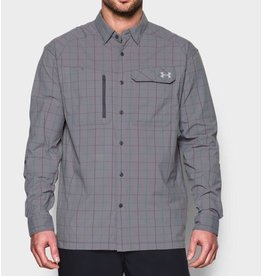 UNDER ARMOUR UNDER ARMOUR MEN'S FISH HUNTER LONG SLEEVE PLAID