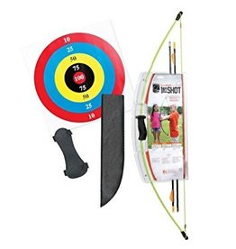BEAR ARCHERY BEAR YOUTH ARCHERY 1ST SHOT GREEN RH & LH