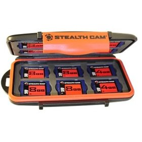 STEALTH CAM STEALTH CAM MEMORY CARD STORAGE CASE 24 CARD SLOT CASE