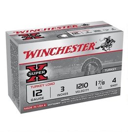 "WINCHESTER WINCHESTER SUPER X 12 GA 3"" #4 TURKEY LOAD 1O SHELLS"