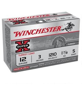 "WINCHESTER WINCHESTER SUPER X 12 GA 3"" #5 TURKEY LOAD 1O SHELLS"