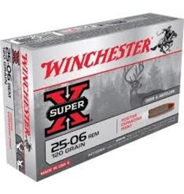 WINCHESTER WINCHESTER 25-06 REM 120GR PEP