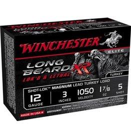 "WINCHESTER WINCHESTER LONG BEARD XR LOK'D &LETHAL 12GA 3"" 1.7/8OZ #5 10 SHELLS"
