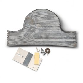 HUNTER'S SPECIALTIES HUNTER'S SPECIALTIES OLD BARN TURKEY PLAQUE MOUNTING KIT