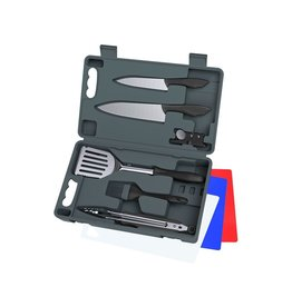 OUTDOOR EDGE OUTDOOR EDGE CUT-N-QUE PRO 10 PC KNIFE AND GRILLING KIT