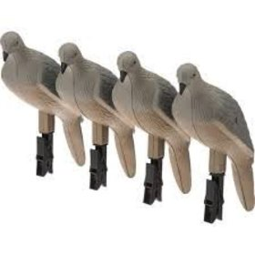 MOJO OUTDOORS MOJO CLIP ON DOVE -SET OF 4