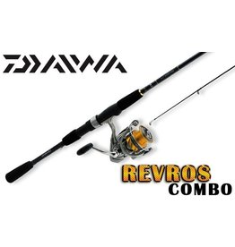 "DAIWA DAIWA REVROS 6'0""M SPINNING ROD AND REEL COMBO"