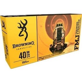 BROWNING BROWNING 40 S&W FMJ 165GR 50 RDS