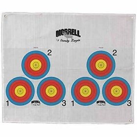 MORRELL MORRELL 723-3 THREE SPOT COLOR TARGET FACE