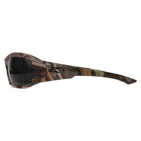 EDGE SAFETY GLASSES EDGE BRAZEAU FOREST CAMO FRAME/ POLARIZED SMOKE LENS