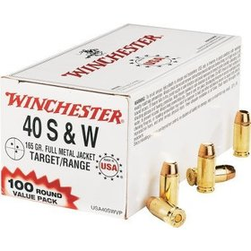WINCHESTER WINCHESTER 40 S&W 165GR 100 RDS