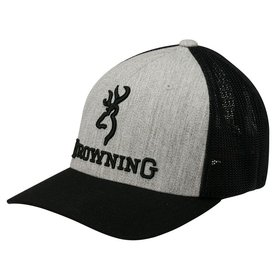 BROWNING BROWNING CAP BRANDED HEATHER L/XL