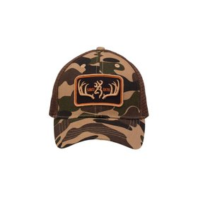 BROWNING BROWNING CAP RACKED BROWN
