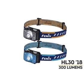 FENIX FENIX HL30 OUTDOOR HIKING HEADLAMP BLUE 300 LUMENS 2AA BATTERIES INCLUDED