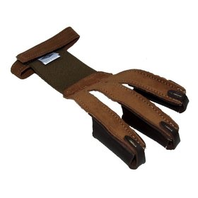 NEET NEET PULL ADJUST TAN SUEDE SHOOTING GLOVE XL