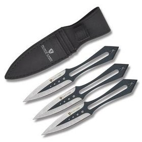 BROWNING BROWNING BLACK LABEL TACTICAL BLADES STICK-IT THROWING KNIVE SET