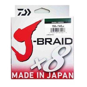 DAIWA DAIWA J-BRAID X8 30LB 150M DARK GREEN