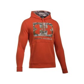 UNDER ARMOUR UNDER ARMOUR MEN'S THREADBORNE CAMO FILL HOODIE ORANGE