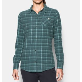 UNDER ARMOUR UNDER ARMOUR WOMEN'S BORDERLAND FLANNEL