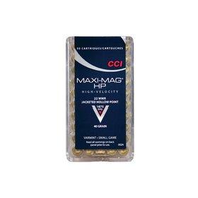 CCI CCI 22 WIN MAG MAXI-MAG HP 40 GR 50 RDS